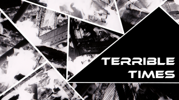 terrible times banner